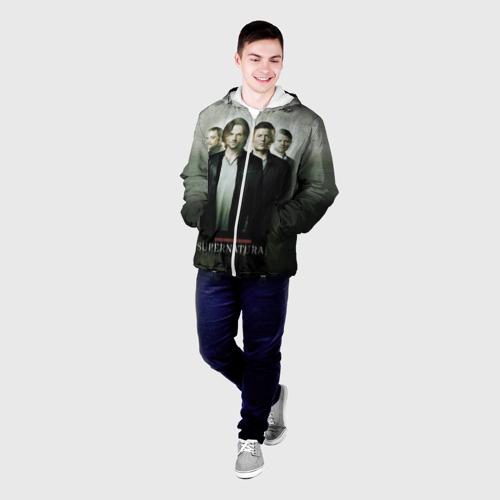 Мужская куртка 3D  Фото 03, Supernatural