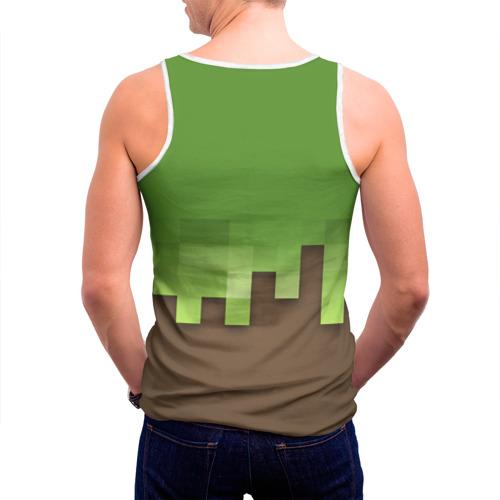 Мужская майка 3D  Фото 04, Minecraft edition