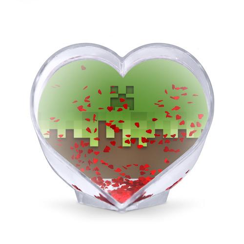 Сувенир Сердце  Фото 02, Minecraft edition