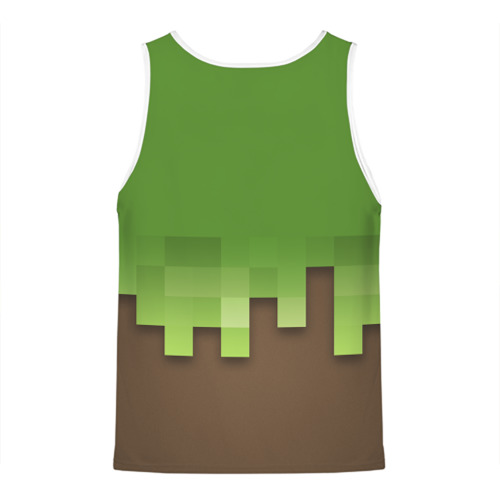 Мужская майка 3D  Фото 02, Minecraft edition