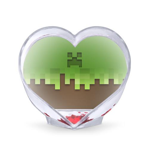 Сувенир Сердце  Фото 01, Minecraft edition