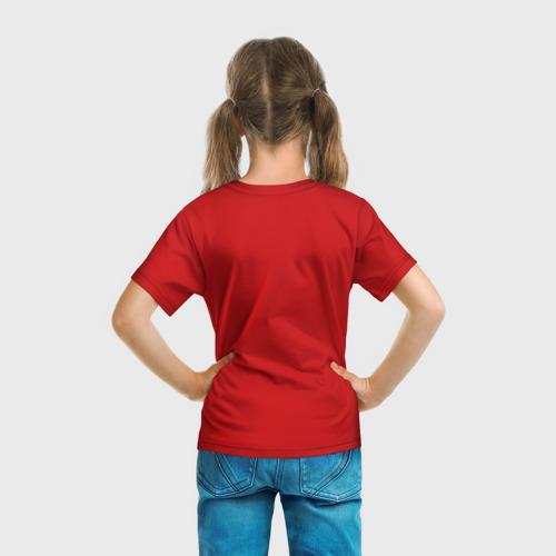Детская футболка 3D  Фото 04, Ёлка и миньон