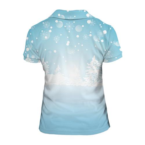 Женская рубашка поло 3D  Фото 02, Подарки