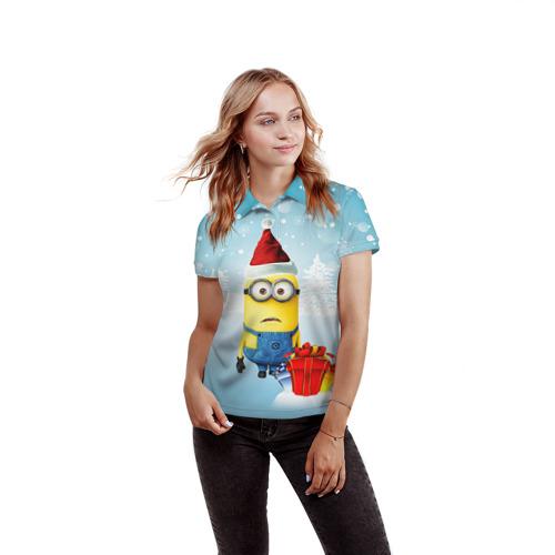 Женская рубашка поло 3D  Фото 03, Подарки