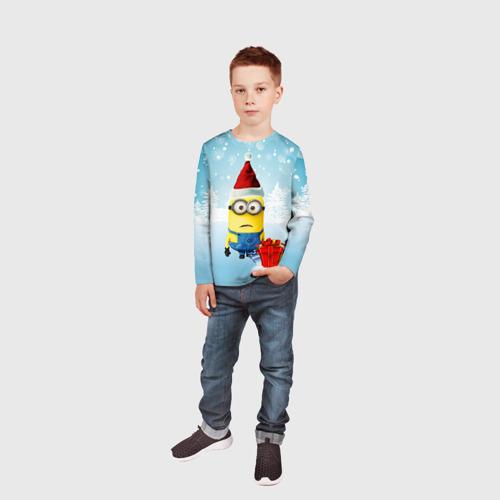 Детский лонгслив 3D  Фото 05, Подарки
