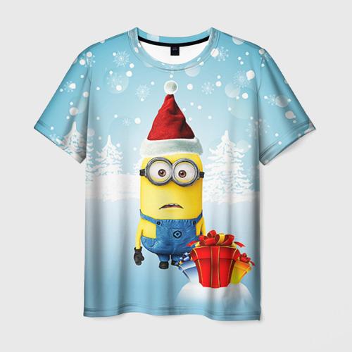 Мужская футболка 3D Подарки