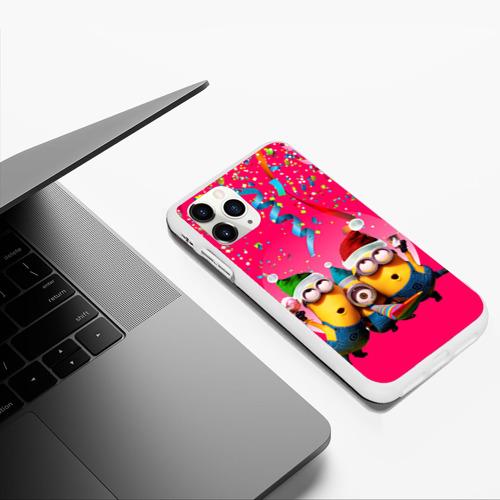 Чехол для iPhone 11 Pro Max матовый Праздник Фото 01