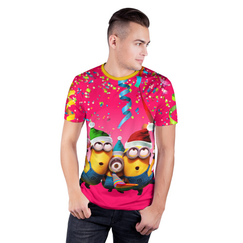 Мужская футболка 3D спортивная  Фото 03, Праздник