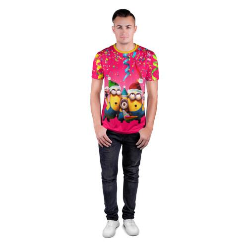 Мужская футболка 3D спортивная  Фото 04, Праздник
