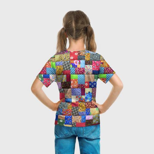 Детская футболка 3D  Фото 04, Лоскутное шитьё