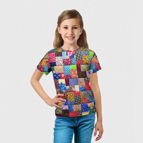 Детская футболка 3D  Фото 03, Лоскутное шитьё