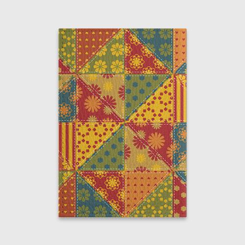Обложка для паспорта матовая кожа  Фото 02, Лоскутное шитьё