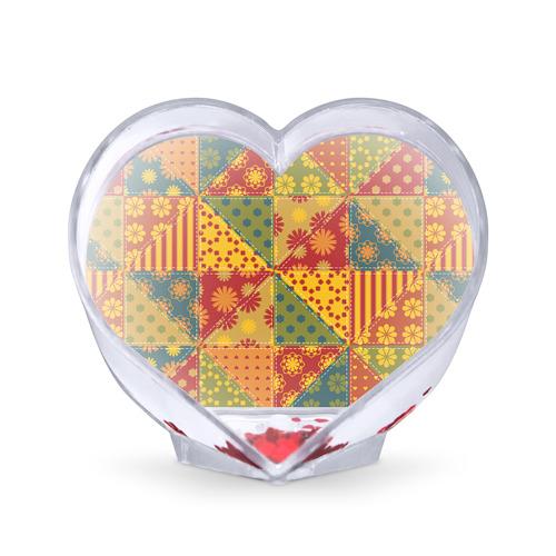 Сувенир Сердце  Фото 01, Лоскутное шитьё