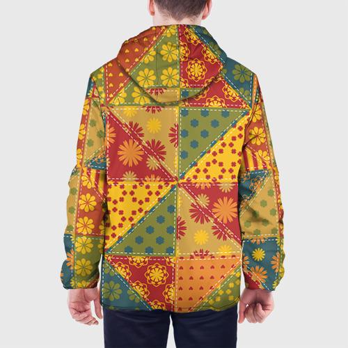 Мужская куртка 3D  Фото 05, Лоскутное шитьё