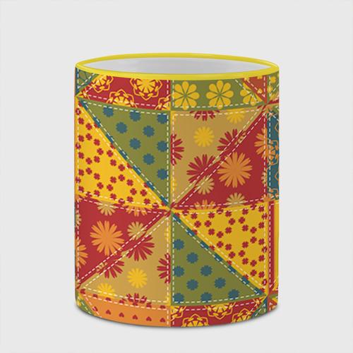 Кружка с полной запечаткой  Фото 03, Лоскутное шитьё