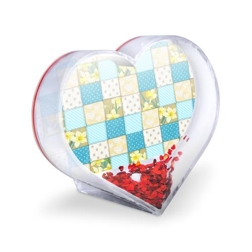 Сувенир Сердце  Фото 03, Лоскутное шитьё