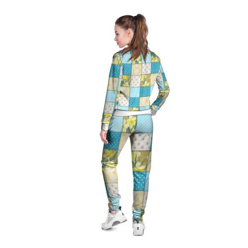 Женская олимпийка 3D  Фото 04, Лоскутное шитьё
