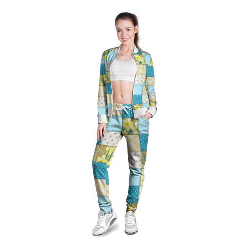 Женская олимпийка 3D  Фото 03, Лоскутное шитьё
