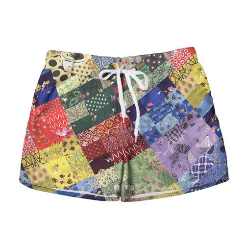Женские шорты 3D Лоскутное шитьё