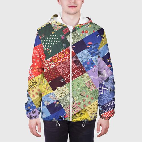 Мужская куртка 3D  Фото 04, Лоскутное шитьё