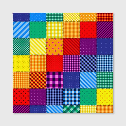 Холст квадратный  Фото 02, Лоскутное шитьё
