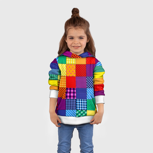 Детская толстовка 3D  Фото 01, Лоскутное шитьё