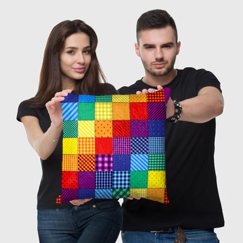 Подушка 3D  Фото 03, Лоскутное шитьё