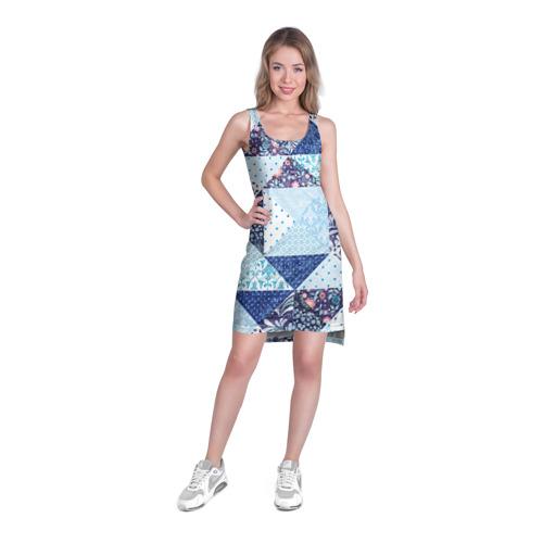 Платье-майка 3D  Фото 03, Лоскутное шитьё
