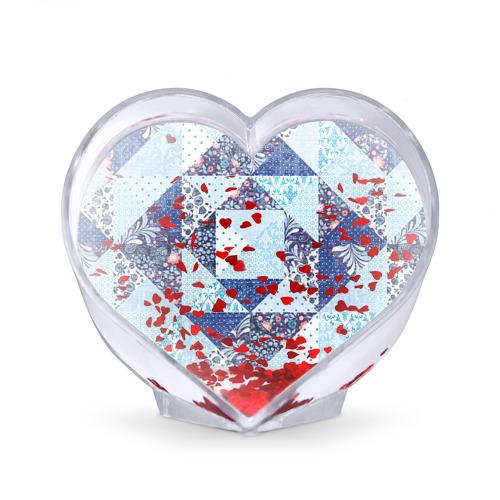 Сувенир Сердце  Фото 02, Лоскутное шитьё