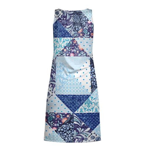 Платье-майка 3D  Фото 02, Лоскутное шитьё