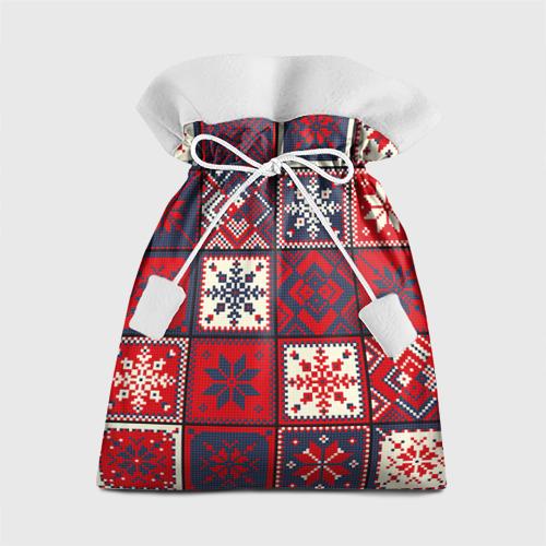 Подарочный 3D мешок Лоскутное шитьё