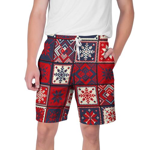 Мужские шорты 3D Лоскутное шитьё