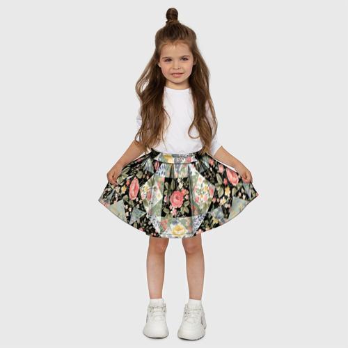 Детская юбка-солнце 3D  Фото 03, Лоскутное шитьё