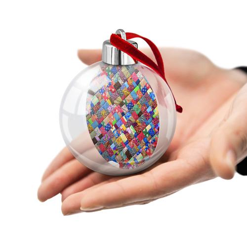 Ёлочный шар  Фото 02, Лоскутное шитьё