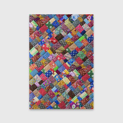 Обложка для паспорта матовая кожа  Фото 01, Лоскутное шитьё