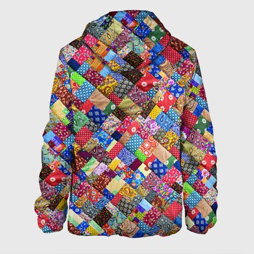 Мужская куртка 3D  Фото 02, Лоскутное шитьё