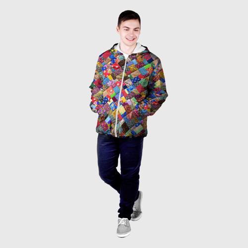 Мужская куртка 3D  Фото 03, Лоскутное шитьё