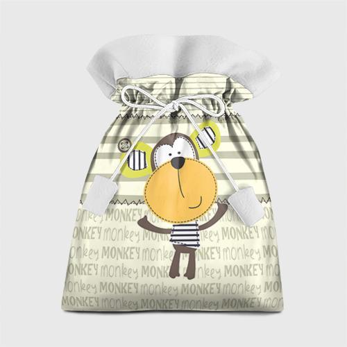 Подарочный 3D мешок Обезьянка