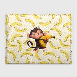 Обложка для студенческого билетаОбезьяна с бананом