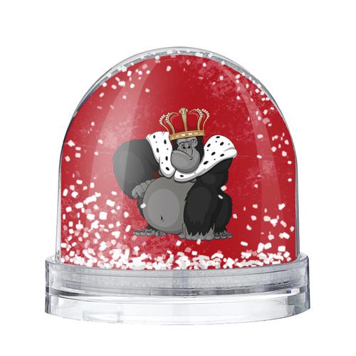 Водяной шар со снегом Обезьяна король