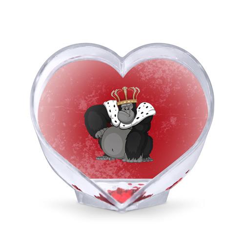 Сувенир Сердце  Фото 01, Обезьяна король