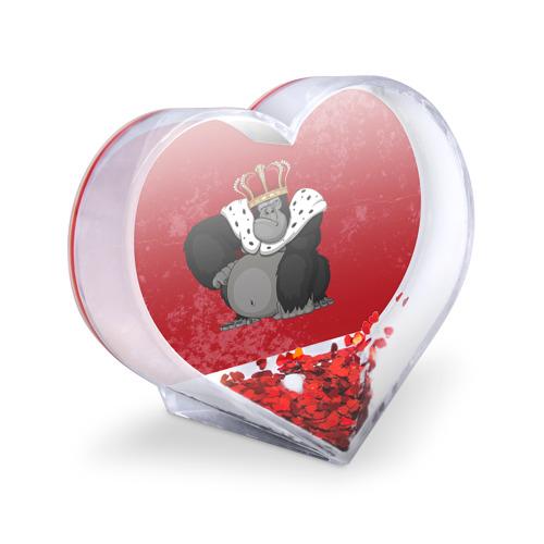 Сувенир Сердце  Фото 03, Обезьяна король