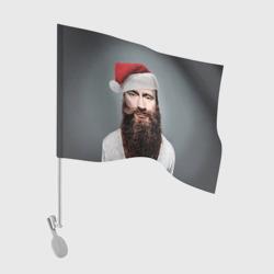 Флаг для автомобиляПутин бородач