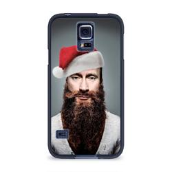 Чехол для Samsung Galaxy S5 силиконовыйПутин бородач