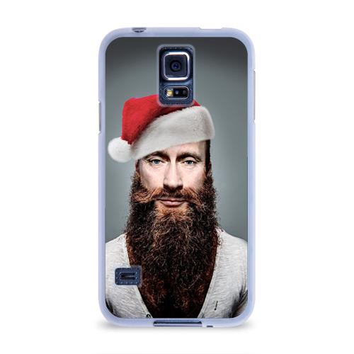 Чехол для Samsung Galaxy S5 силиконовый Путин бородач