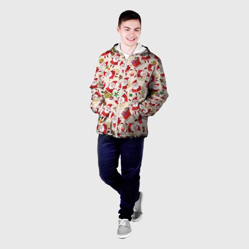 Мужская куртка 3D  Фото 03, Санта