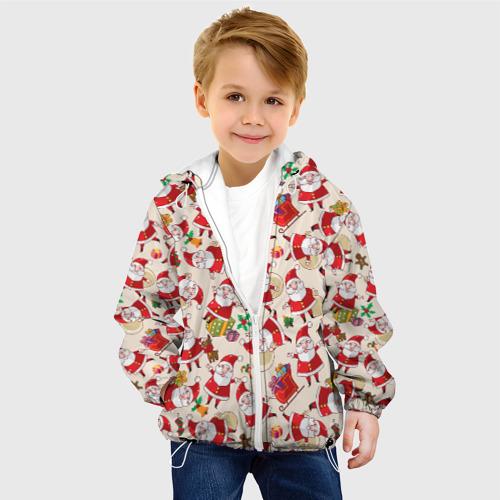 Детская куртка 3D  Фото 03, Санта