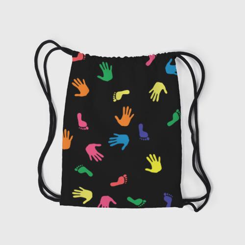 Рюкзак-мешок 3D Отпечатки Фото 01