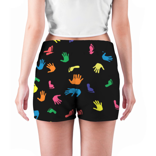 Женские шорты 3D Отпечатки Фото 01