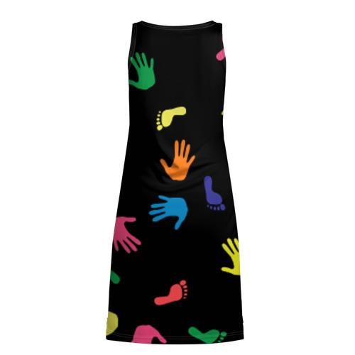 Платье-майка 3D Отпечатки Фото 01